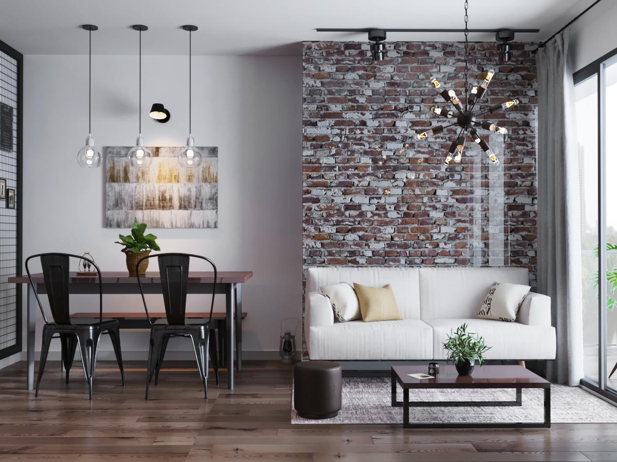Rezultate imazhesh për industrial interior design