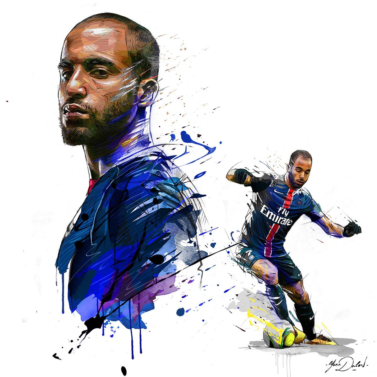 Tottenham Sign Lucas Moura From Paris Saint Germain: Lucas Moura On Behance