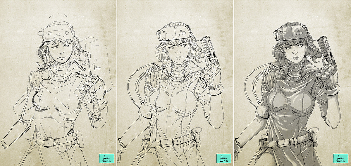 Ghost In The Shell Motoko Kusanagi Fan Art On Behance