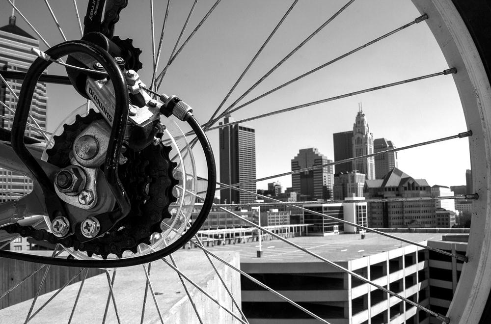 apparel Apparel Design photoshop camera raw Nikon columbus bikes Cycling Yoga design black and white