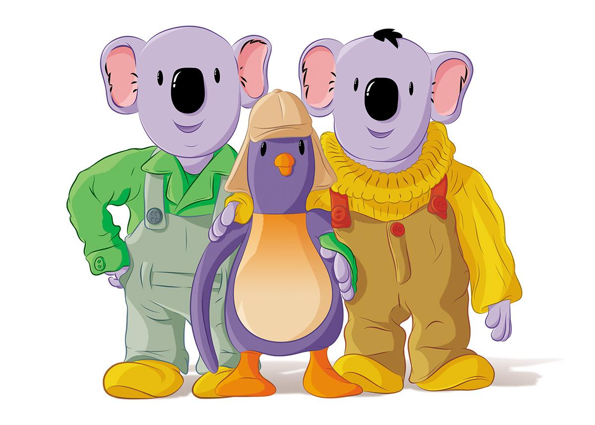 The Koala Brothers vector 01 on Behance