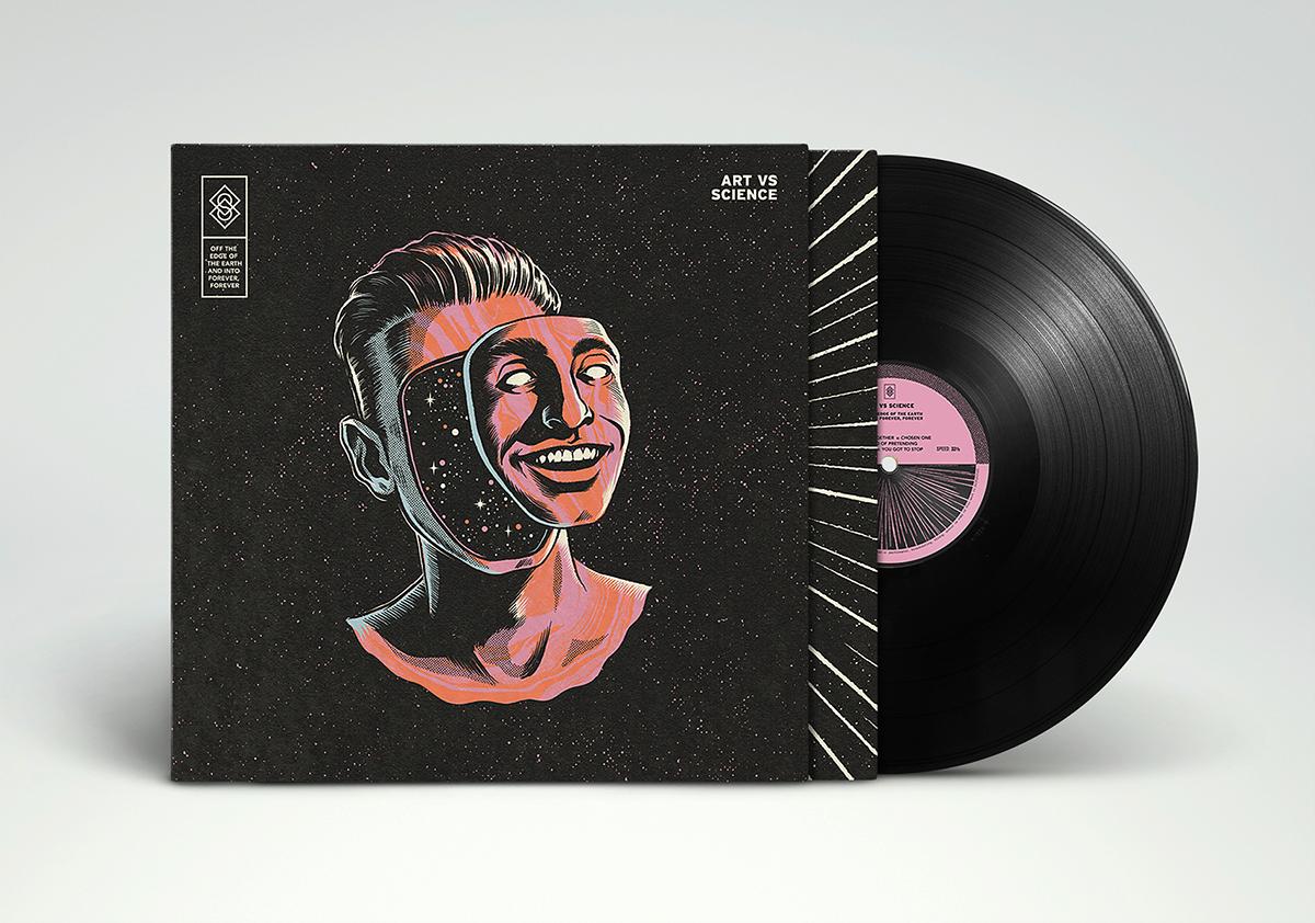 Art Vs Science Album Cover On Behance
