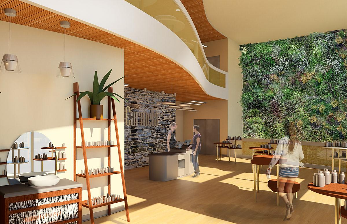 Carmela Retail Store Design 5 On Philau Portfolios