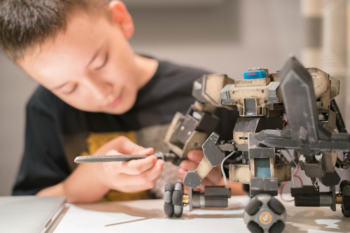Робот ганкер своими руками 27