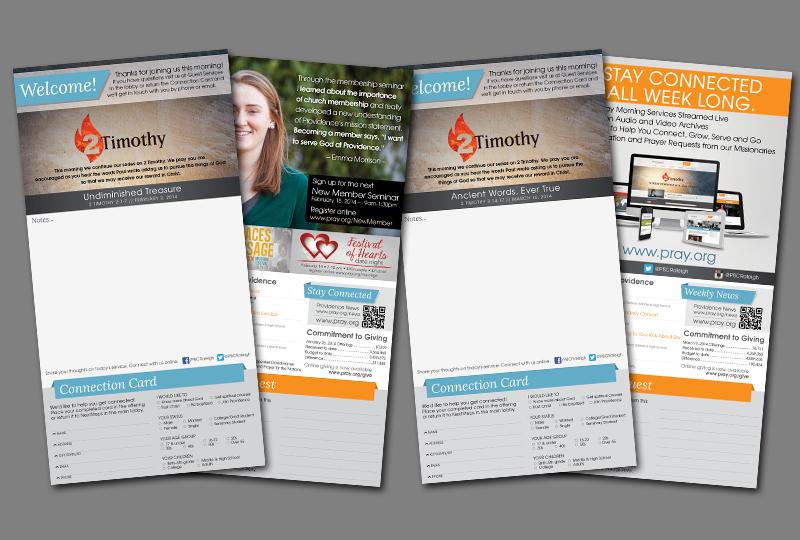 weekly church bulletin layout on behance - Weekly Bulletin Template