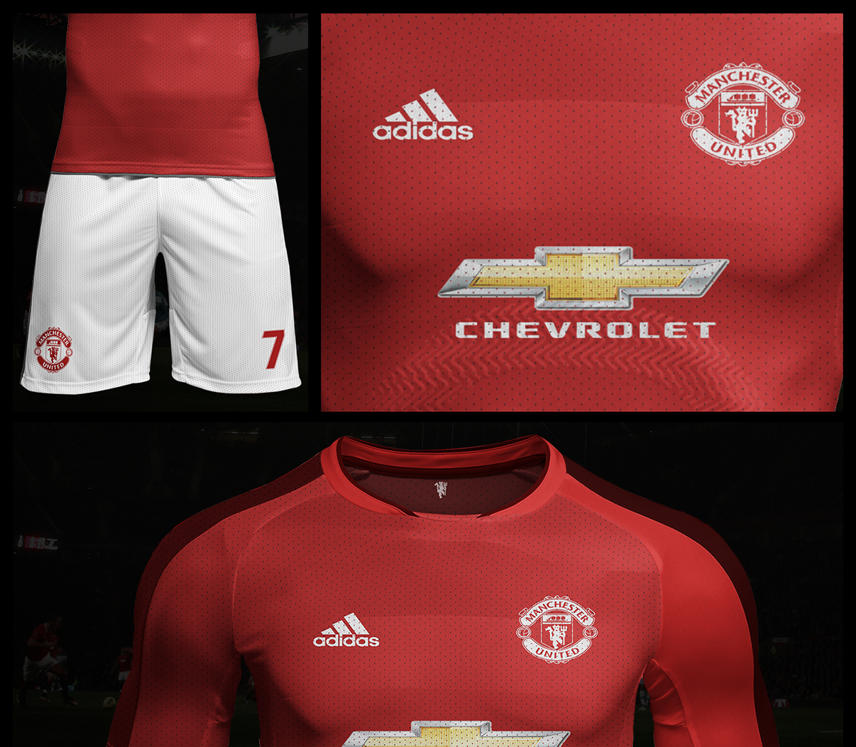 lowest price 81e47 72f16 Manchester United FC | Kit Concept .. on Student Show