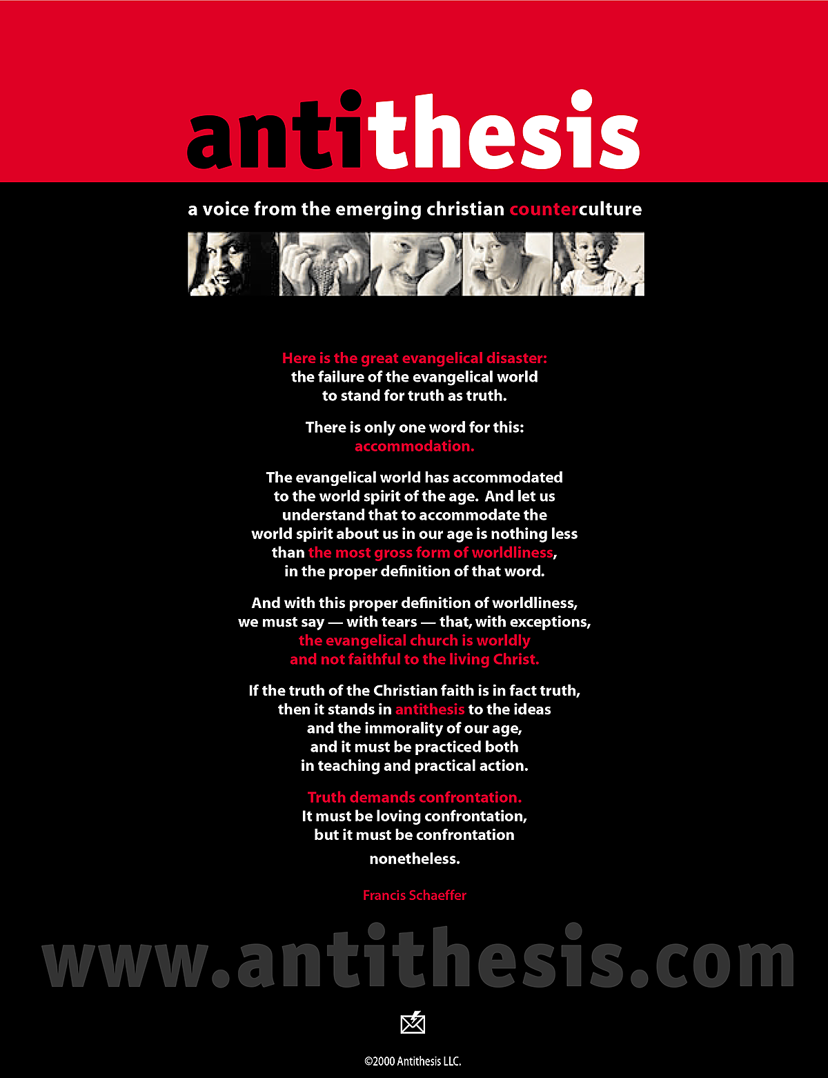 antithesis an intelligent content community on behance