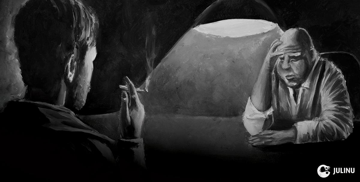 rumpelstiltskin oil paint noir julinu julian mallia malta brighton university of brighton femme fatale