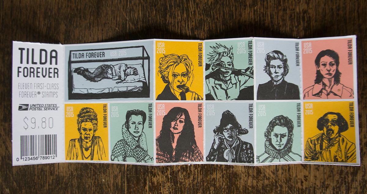 Tilda Forever Stamps On Behance