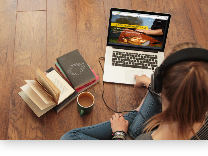 Startup UI Interface Web Design  Website graphic design  audio player Audio player academia