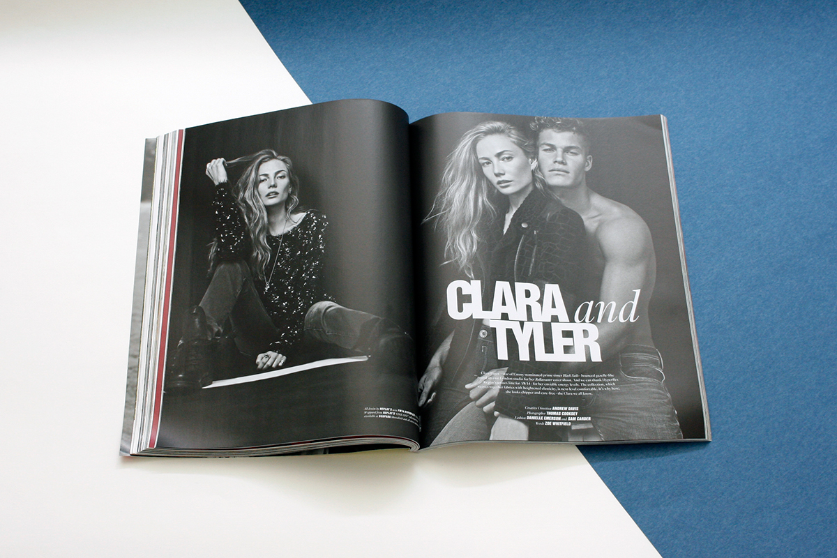 Young fashion magazine