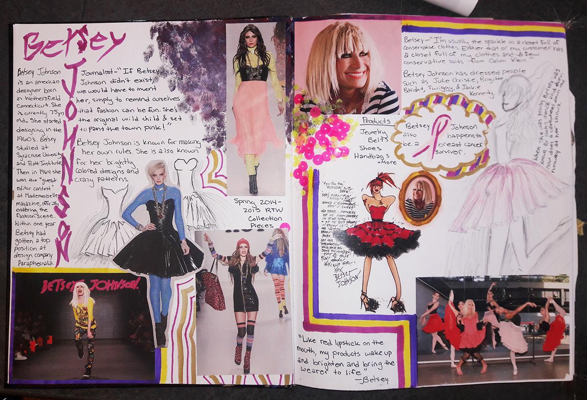 Fashion Design Betsey Johnson Inspired Research On Philau Portfolios