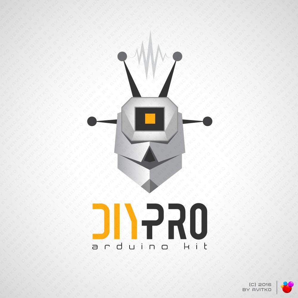 branding  cartoon cartoon logo hi-tech logo Logotype robot лого логотип логотипы