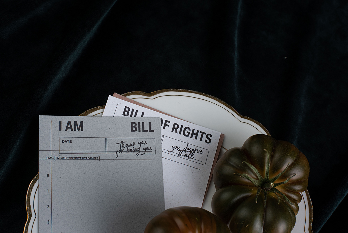 'I am Bill and 'Bill of Rights' serve as a reminder of who you are