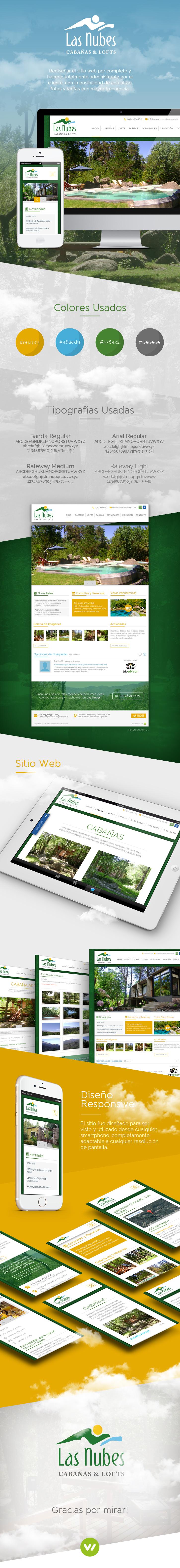 Pagina Web de Cabañas