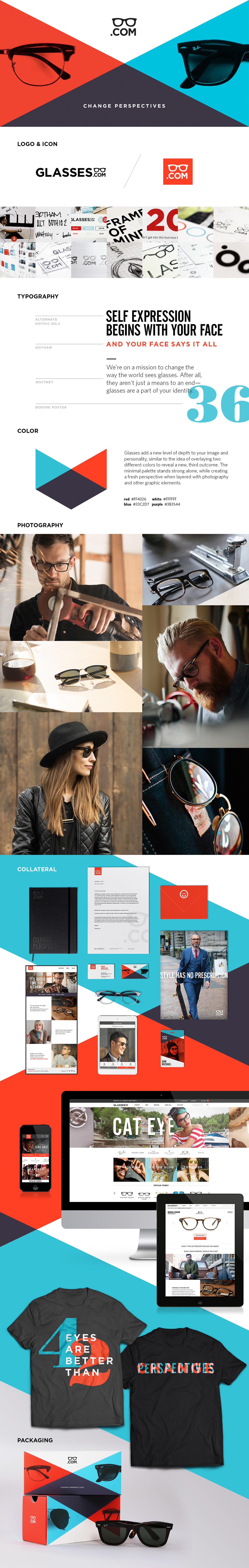Glasses.com,glasses,brand,Rebrand,identity,logo