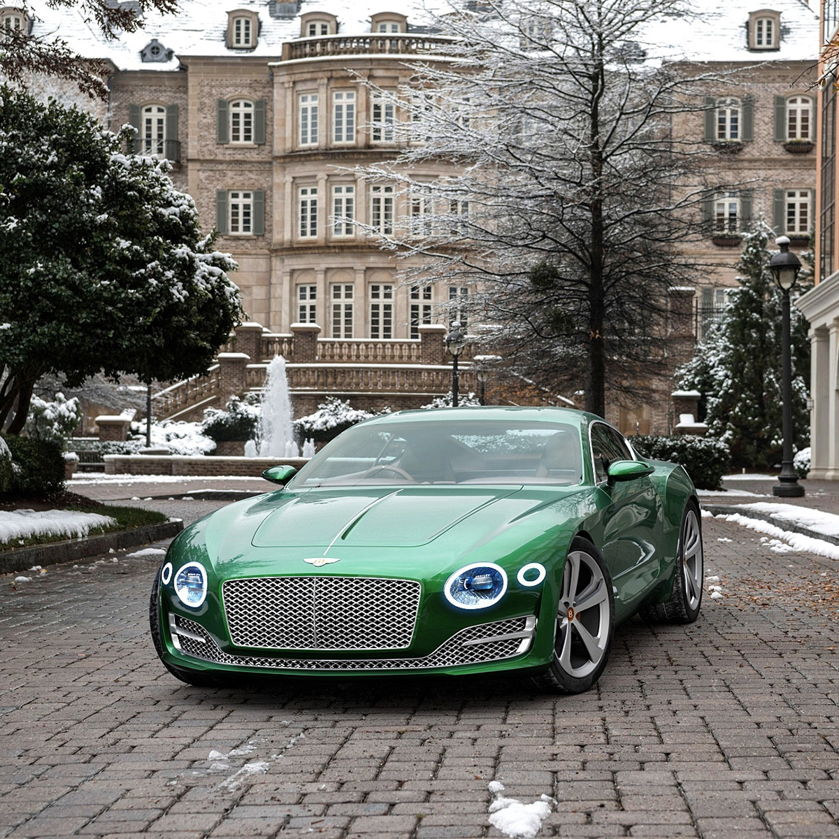Bentley Exp 10 >> Bentley Exp 10 Speed 6 3d Renders On Behance
