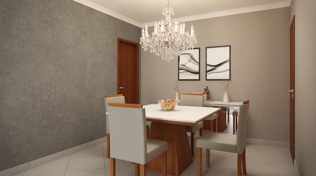 architecture ARQUITETURA arquitetura de interiores design dinner room projeto online sala de estar sala de jantar Sala de Tv tv room