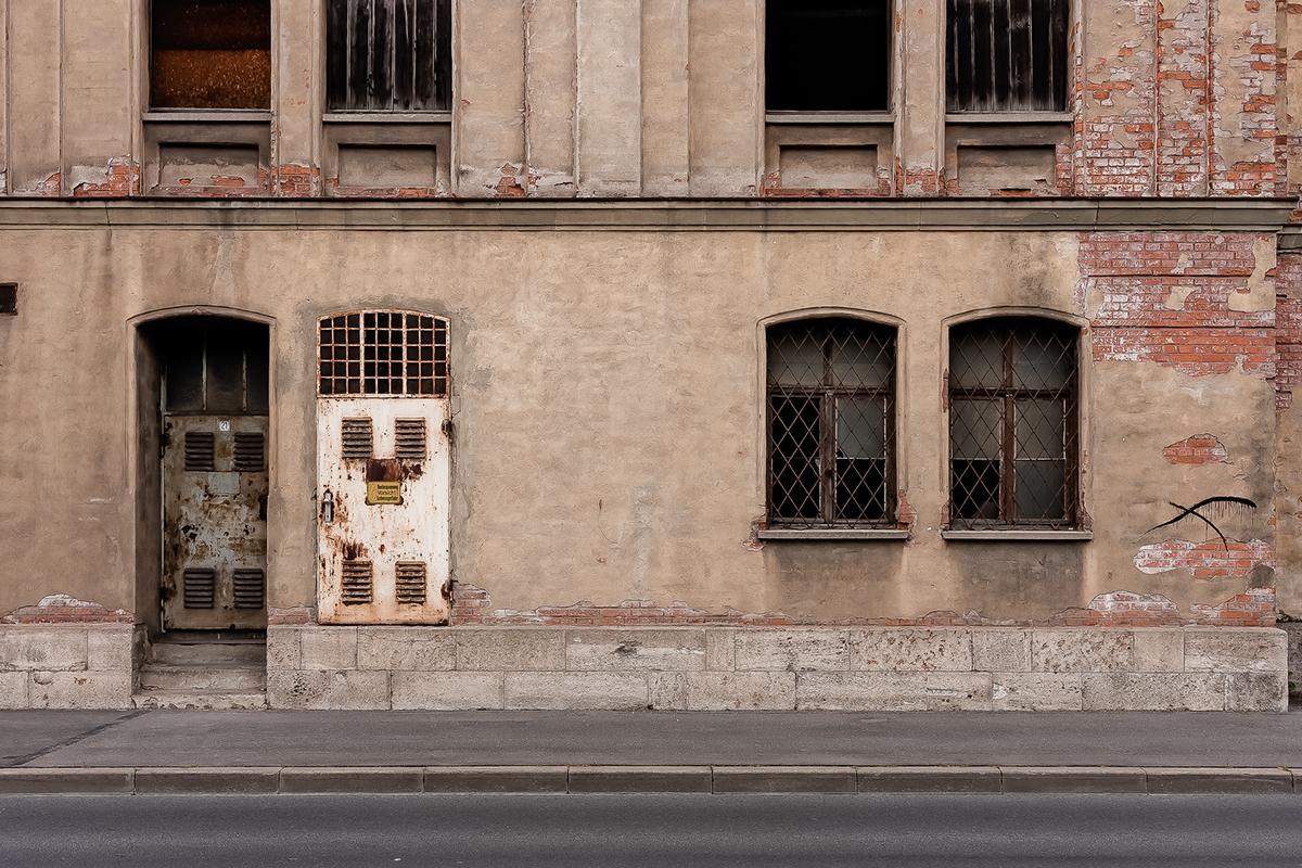 city Urban facade