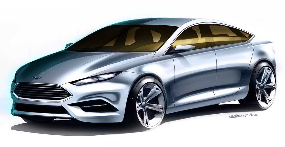 The All New Ford Mondeo On Behance
