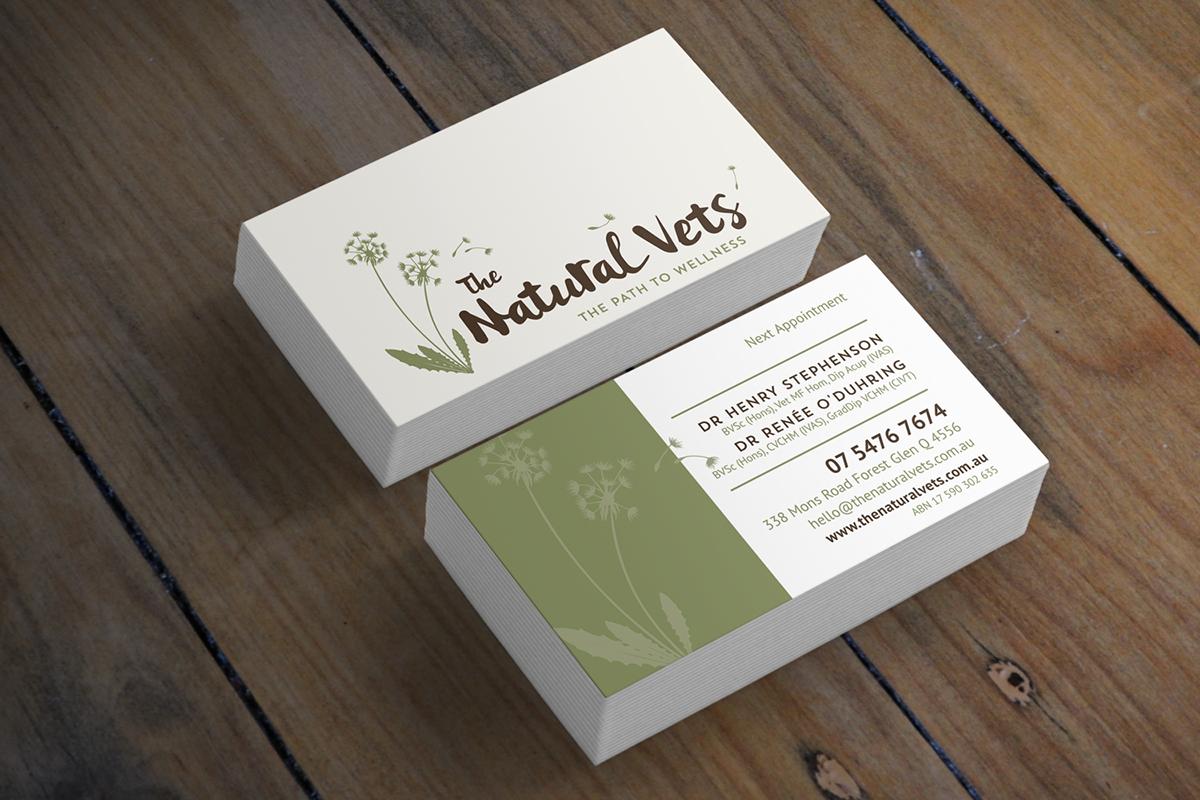 The Natural Vets Branding on Behance