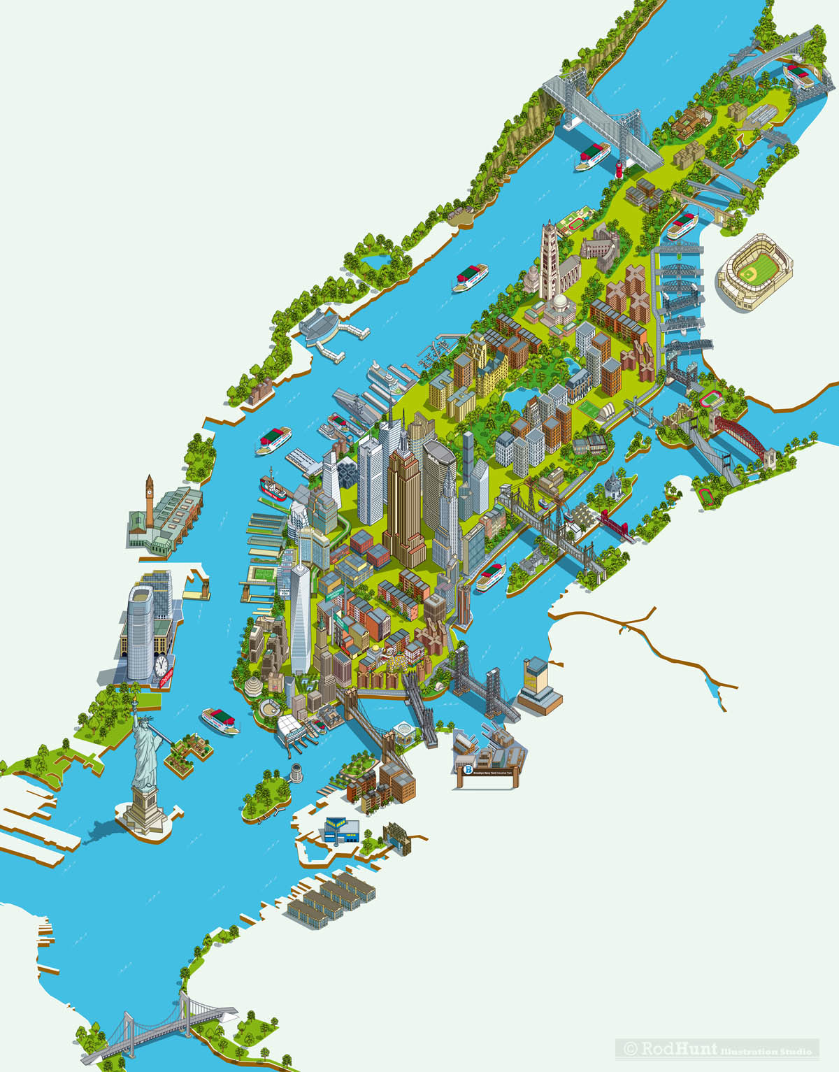 more than 23 bridges the new world trade center and all the other fantastic buildings monuments neighborhoods and attractions that make new york the