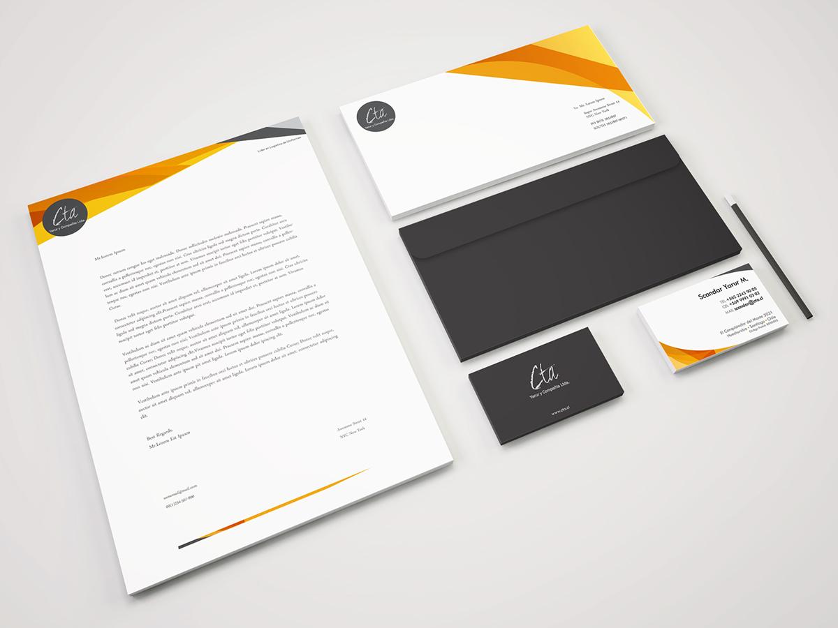 Identidad Corporativa branding  Rebrand logo Logotipo cta yarur marjorie reyes