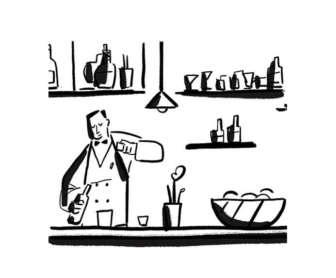 Image may contain: cartoon, drawing and illustration