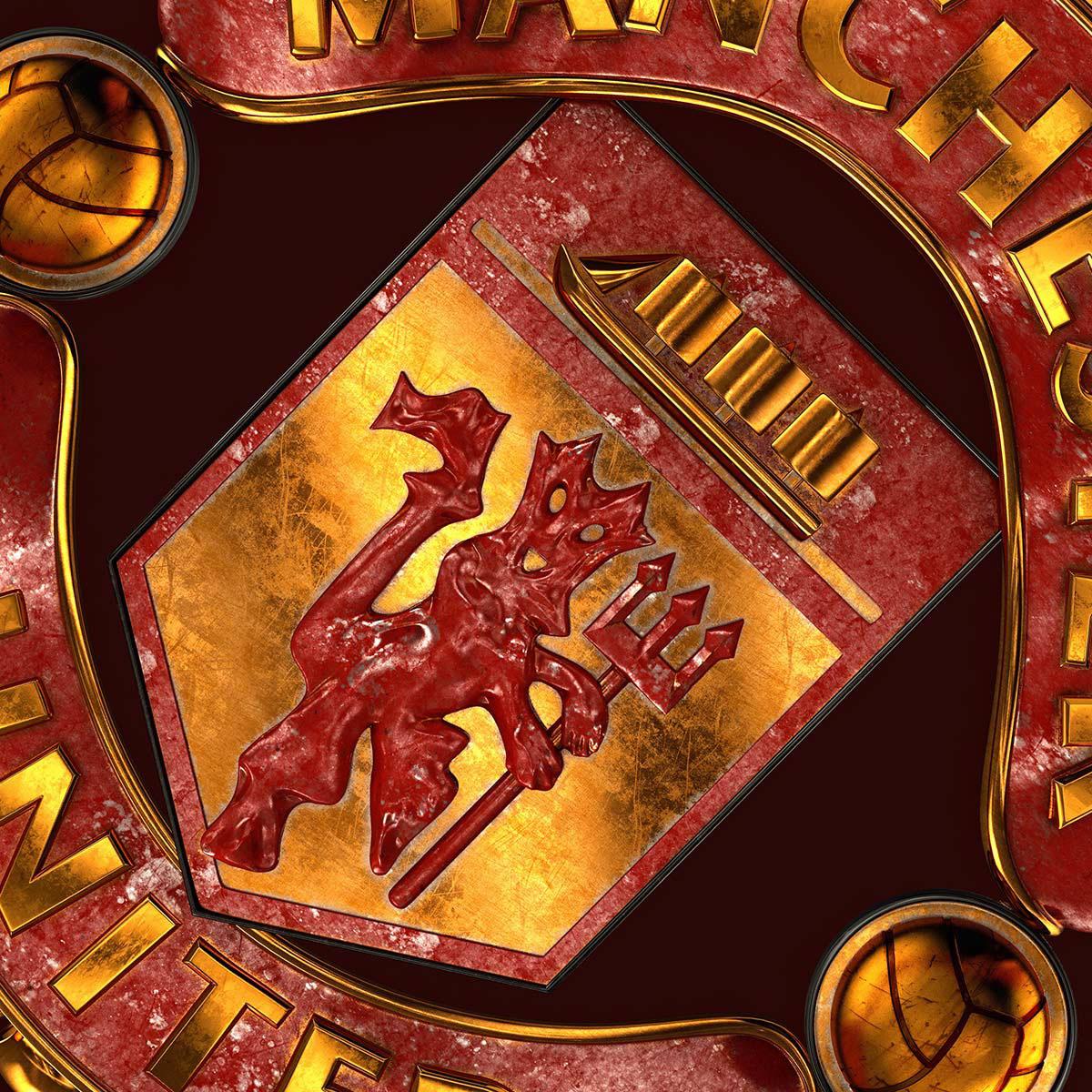 Talisman & Co.   Manchester United Badge   Andrei Lacatusu