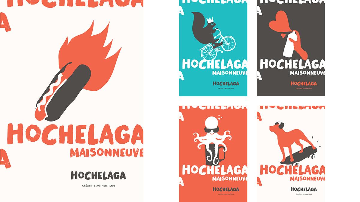 Écorce,SDC Hochelaga-Maisonneuve,Image de marque,design