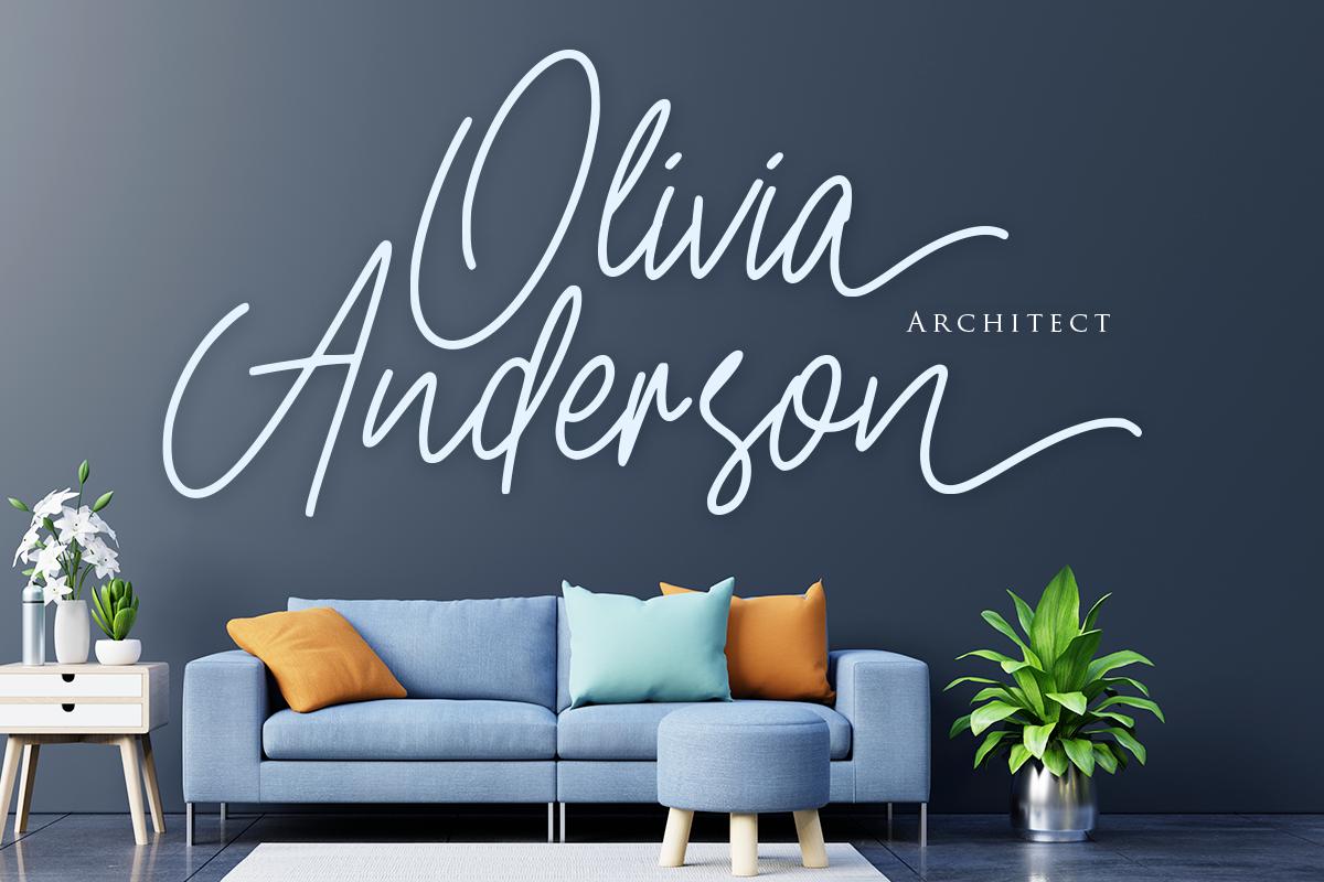 branding  designfont Doria font greeting card handwritten Logotype Script signature youtubefont