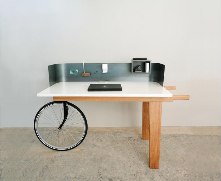 Urban Nomad Movable Desk On Behance