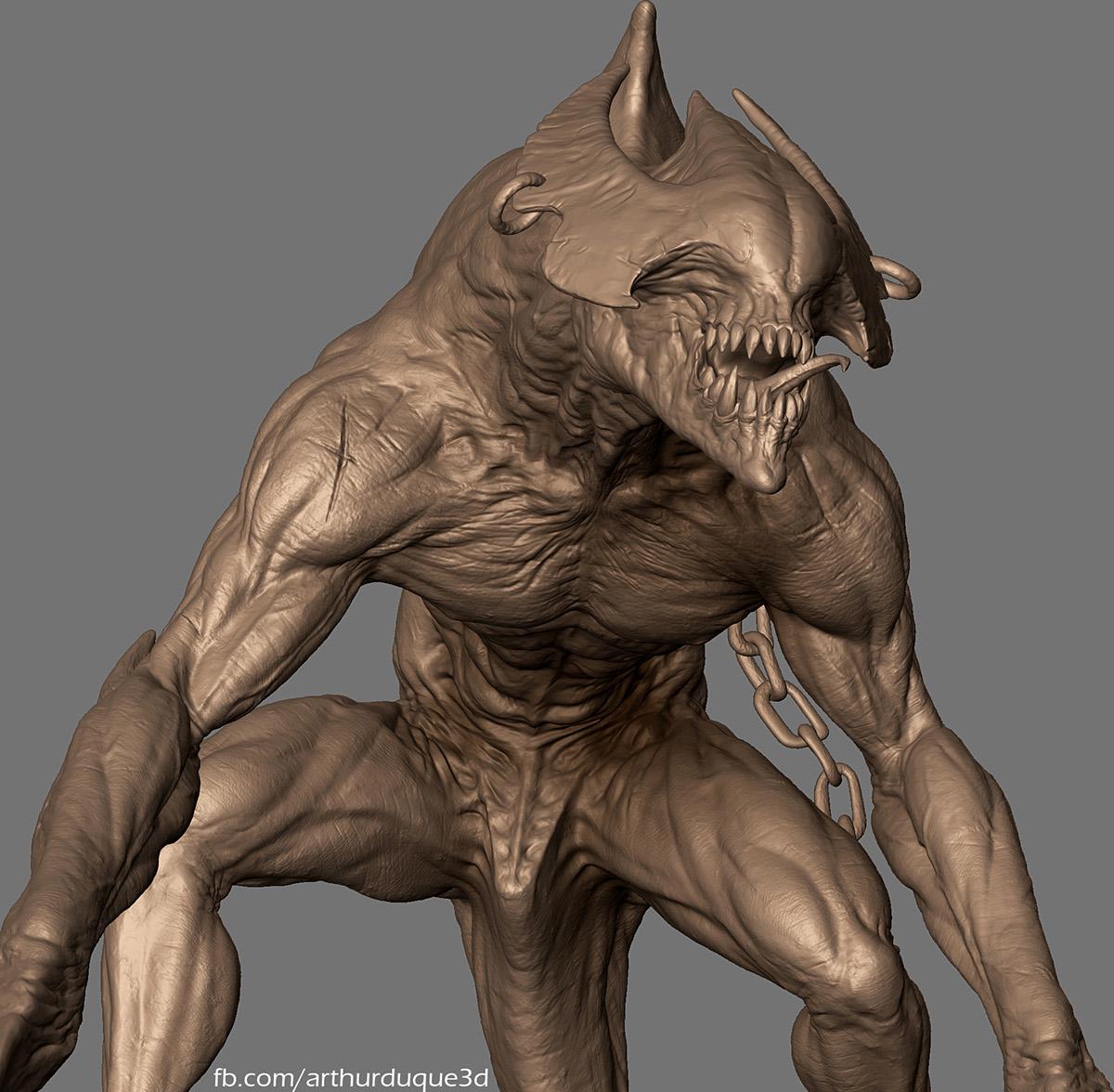 Character Design Jobs Australia : Demon soldier by arthur duque on behance