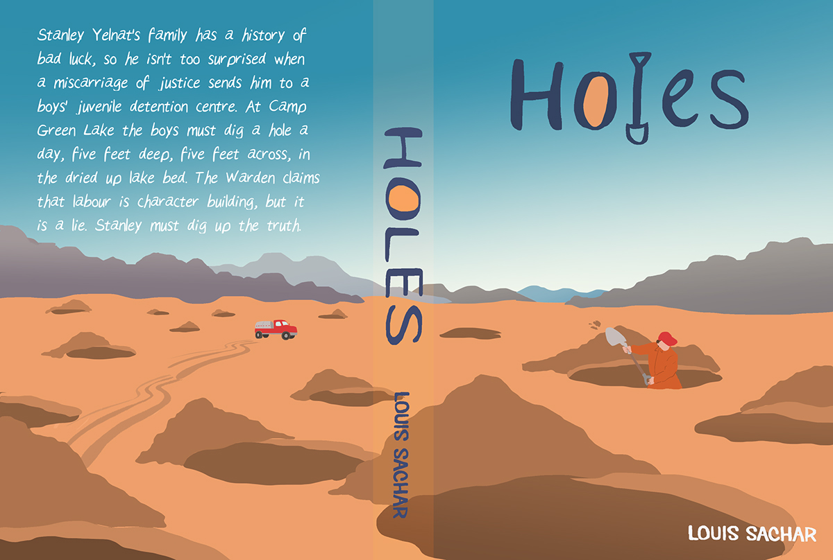 a review of louis sachars holes Louis sachar - holes louis sachar was born on 20 march 1954, in east meadow, new york in 1976, he went to the university of california, where he studied economics.