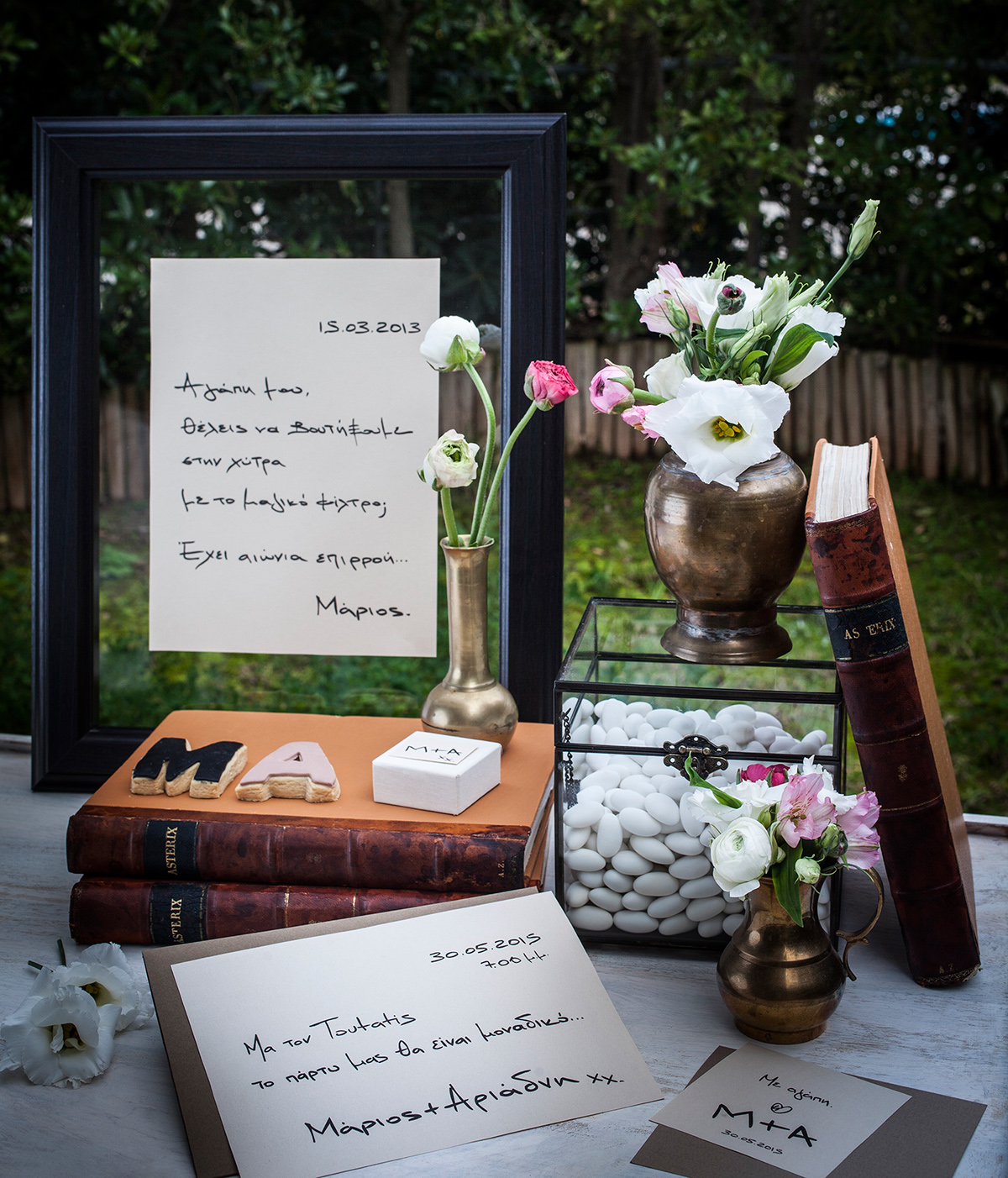 hand written letter Concept Wedding The Knot