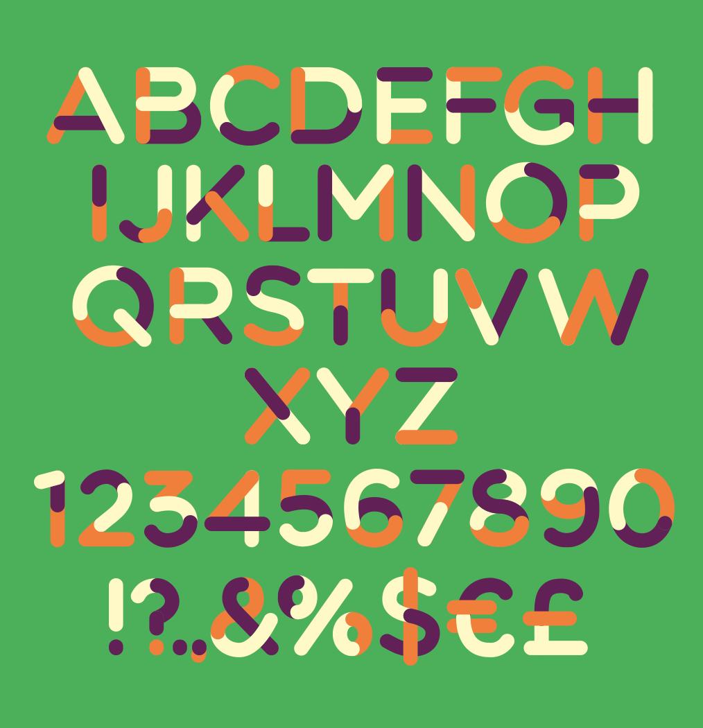 FREE Font on Behance