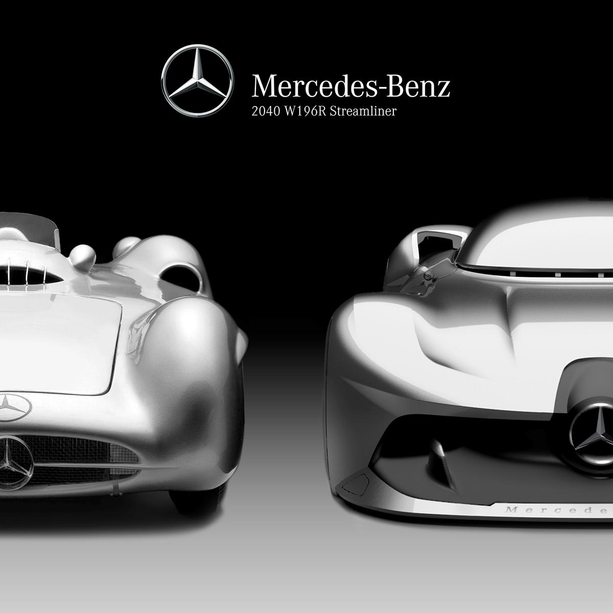 Mercedes Benz Streamliner On Behance