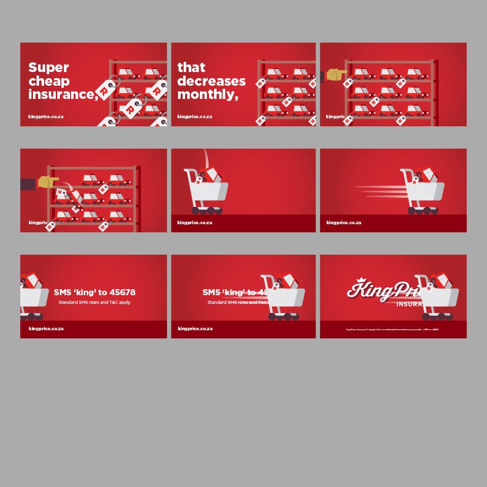 Adobe Portfolio design ILLUSTRATION  branding  charming commercial Beautiful animation  insurance red africa