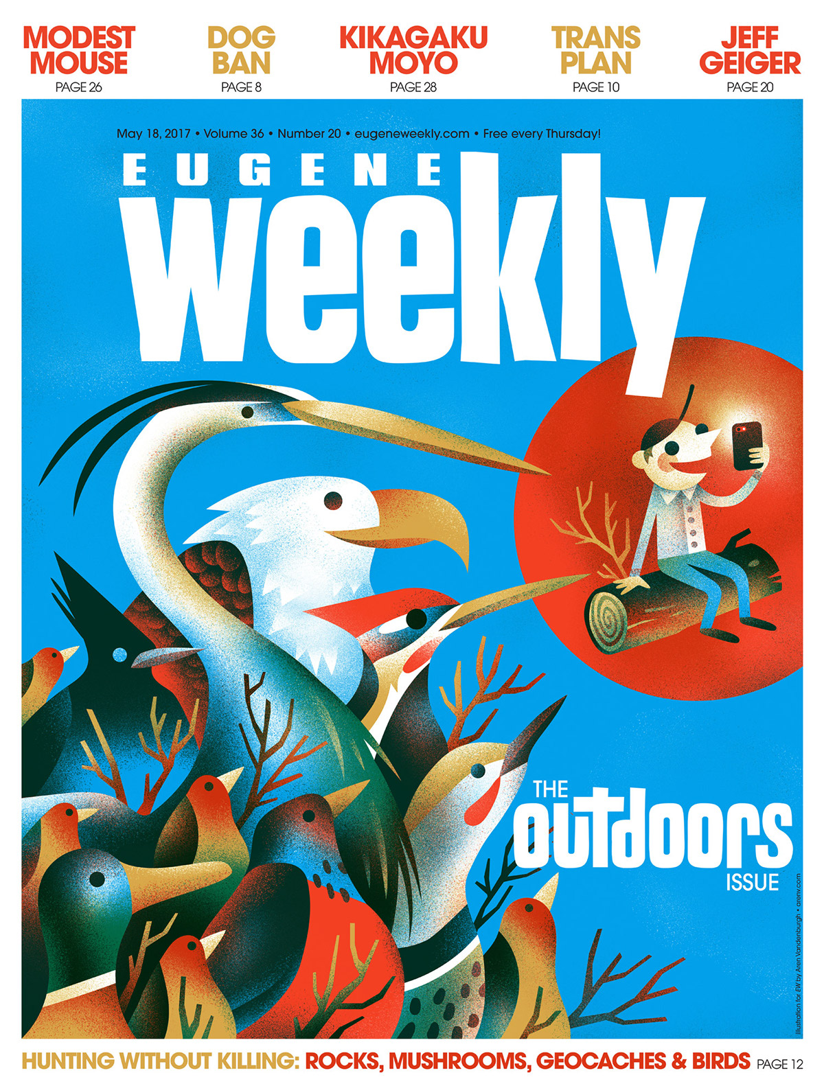 Eugene Weekly on Behance