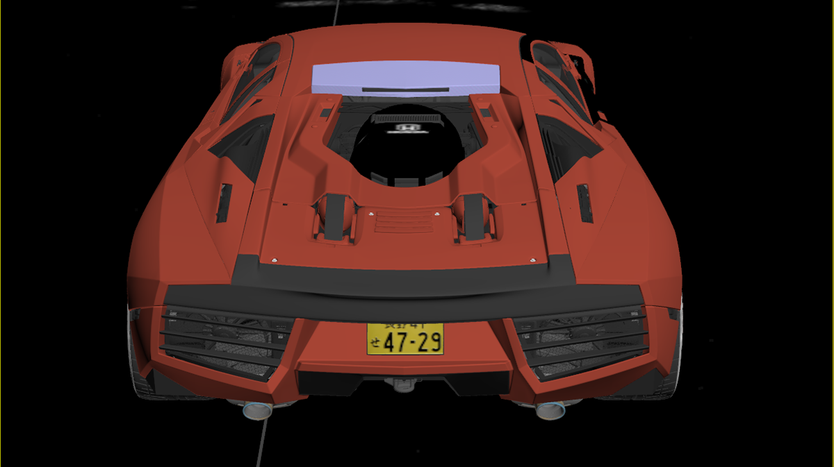 Automotive CGI Design: the futuristic Honda Reventon
