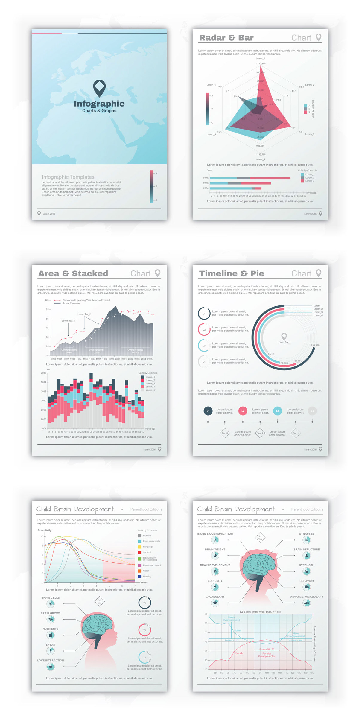 Infographic (Charts & Graphs) on Pantone Canvas Gallery