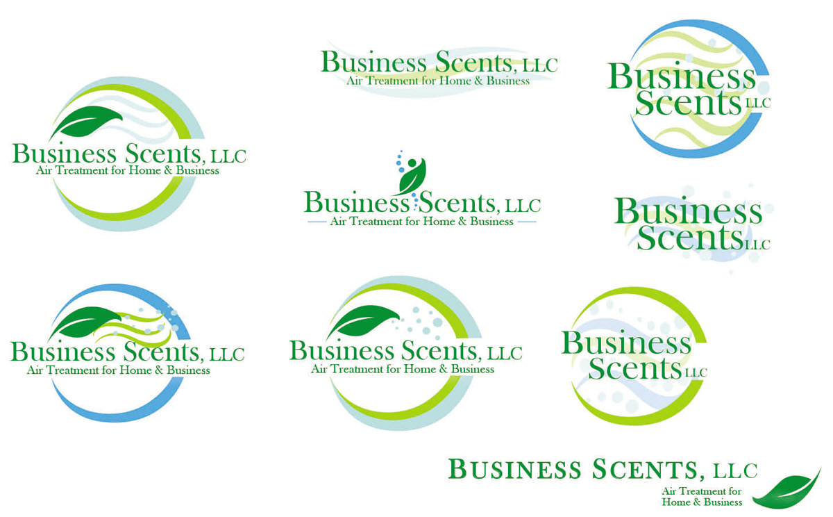 Business Scents Logo Proofs On Behance