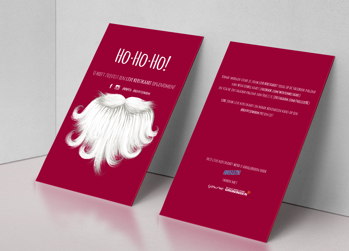 Live Christmas Cards by Gasunie on Behance
