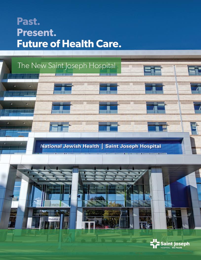 Saint Joseph Hospital | New Hospital Booklet on Behance