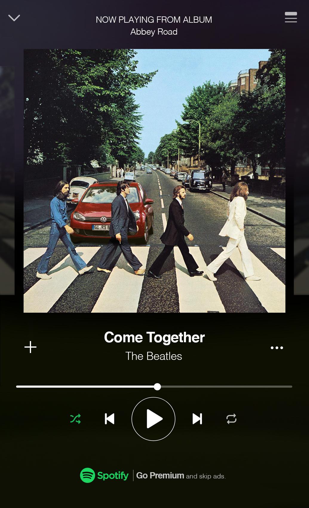"""The Beatles Polska: Spotify świętuję 50. rocznicę wydania albumu """"Abbey Road"""""""