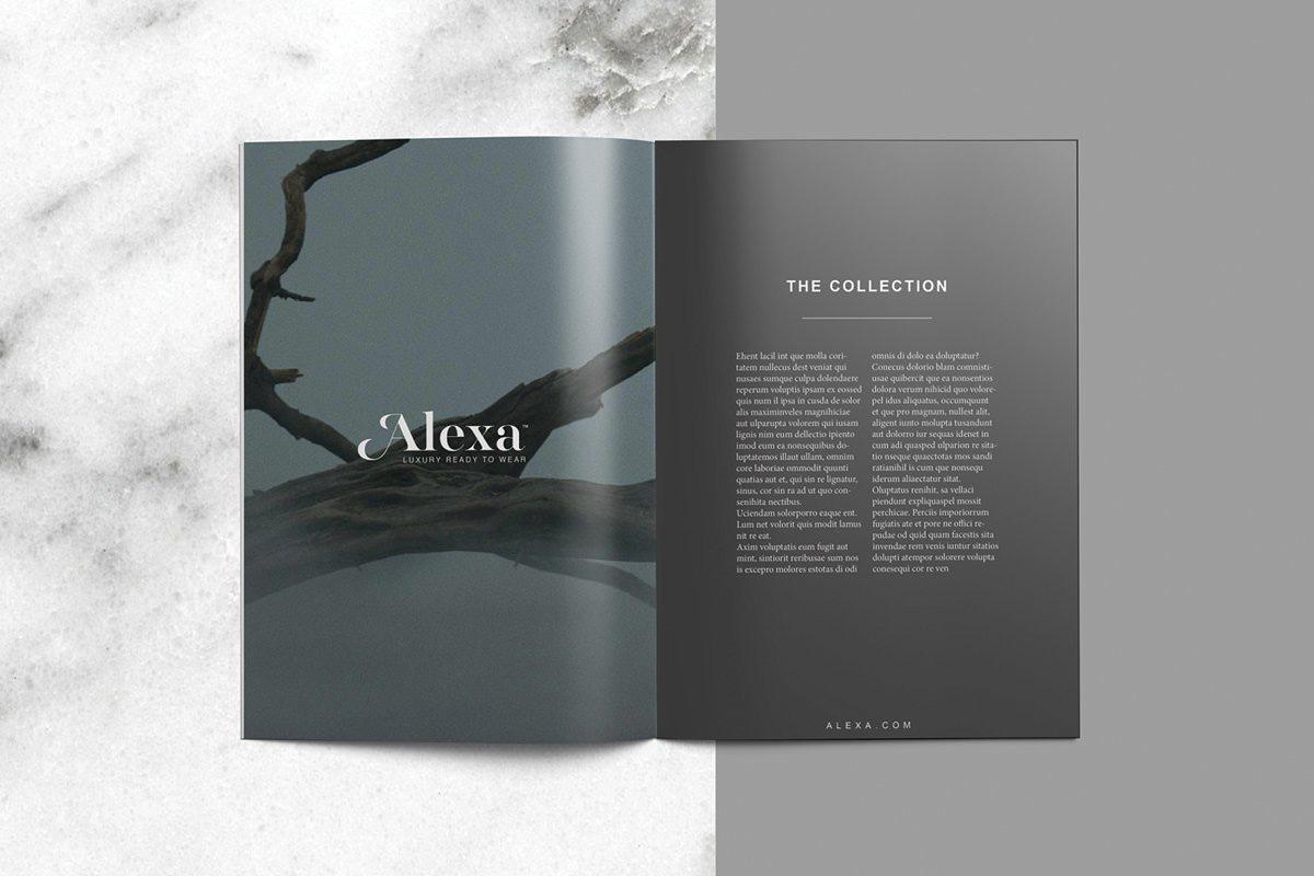 fashion lookbook fashion magazine magazine template catalog Retail luxury Luxury Fashion Free Template Free Resume fashion nova