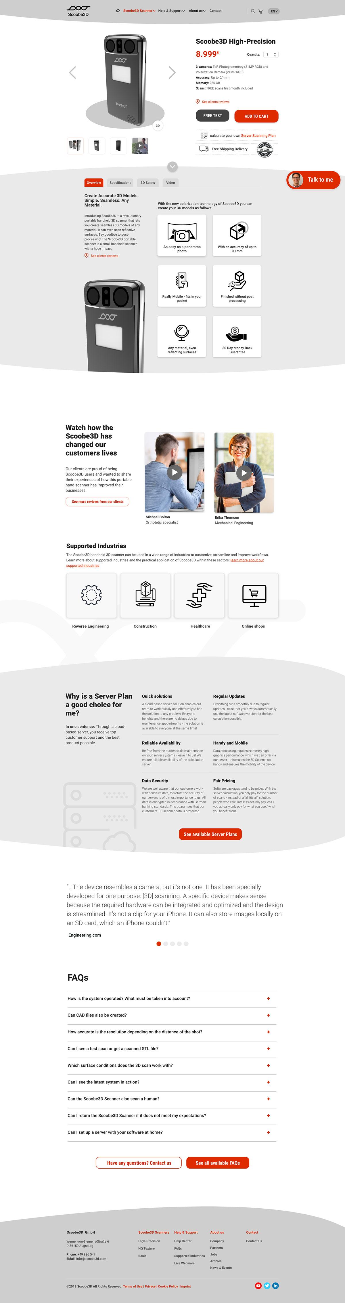 heatmaps analysis User research user testing ux/ui website redesign