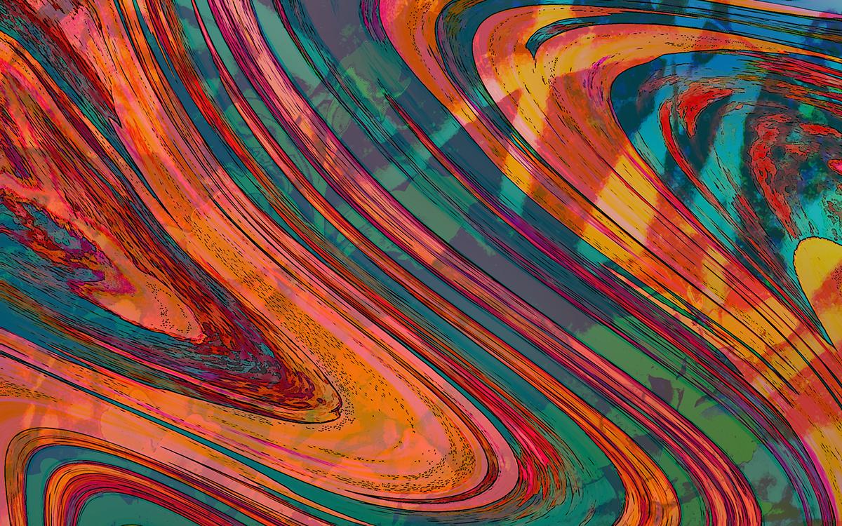 Retro Desktop Wallpaper on Behance