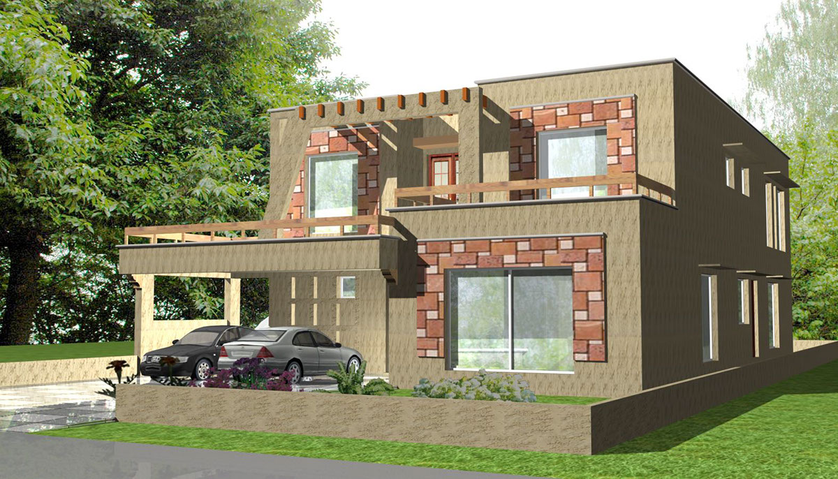 Consultancy Bungalows Wid Varied Architectural Designs On