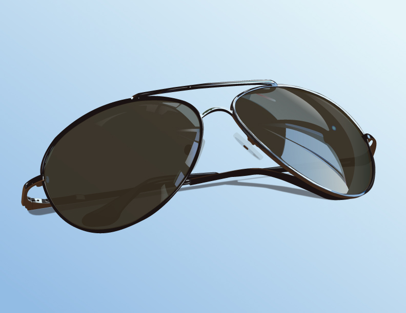 Sun Glasses reflection accesories